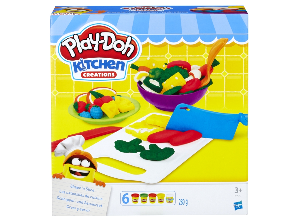 PLAYDOH SHAPE 'N SLICE