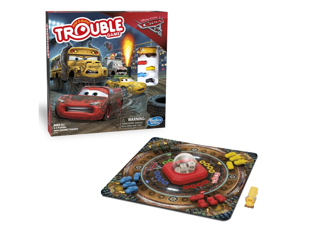 TROUBLE CARS 3