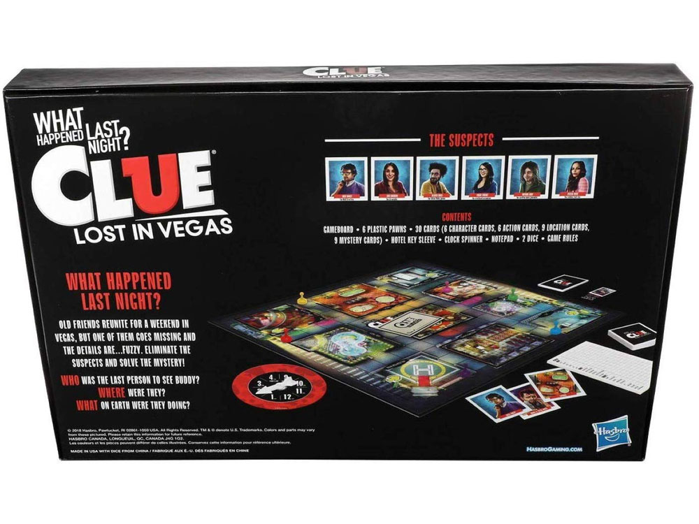 CLUE LOST IN VEGAS - Click Image to Close