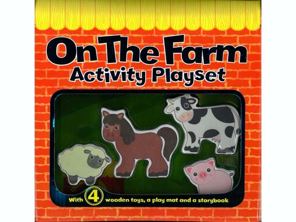 ON THE FARM ACTIVITY PLAYSET