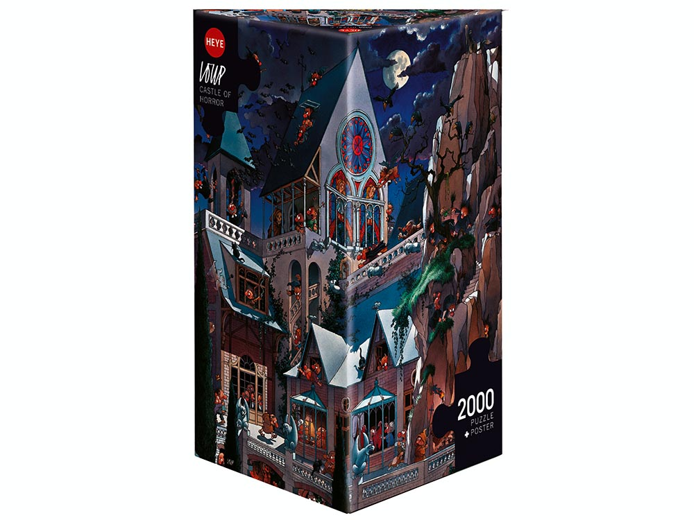 LOUP, CASTLE OF HORROR 2000pc