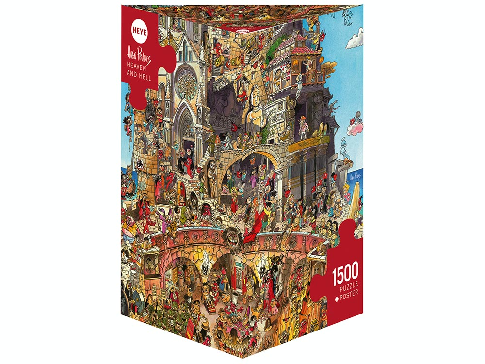 PRADES, HEAVEN & HELL 1500pc