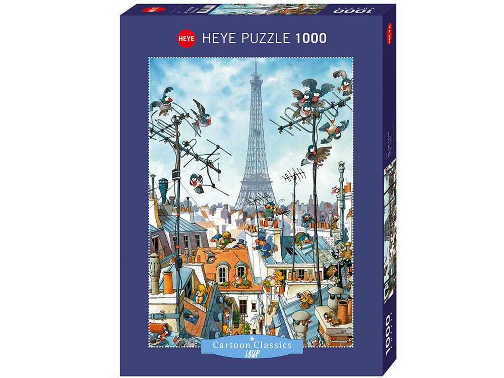 LOUP, EIFFEL TOWER 1000pc