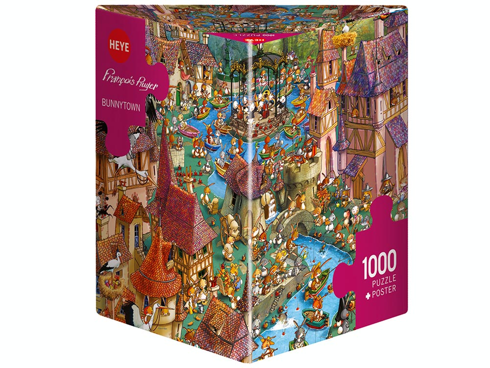 RUYER, BUNNYTOWN 1000pc