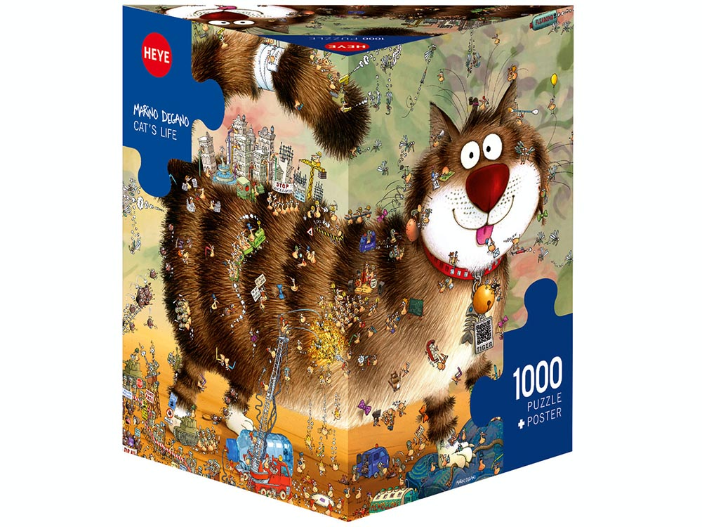 DEGANO, CAT'S LIFE 1000pcs