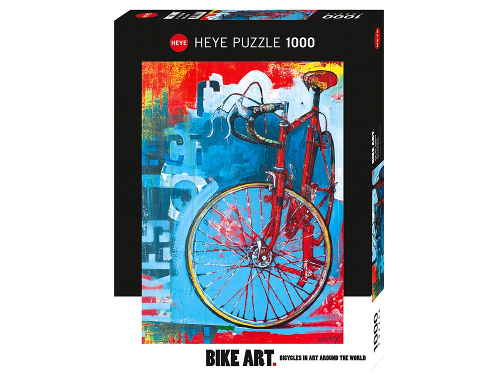 BIKE ART, RED LIMITED 1000pc