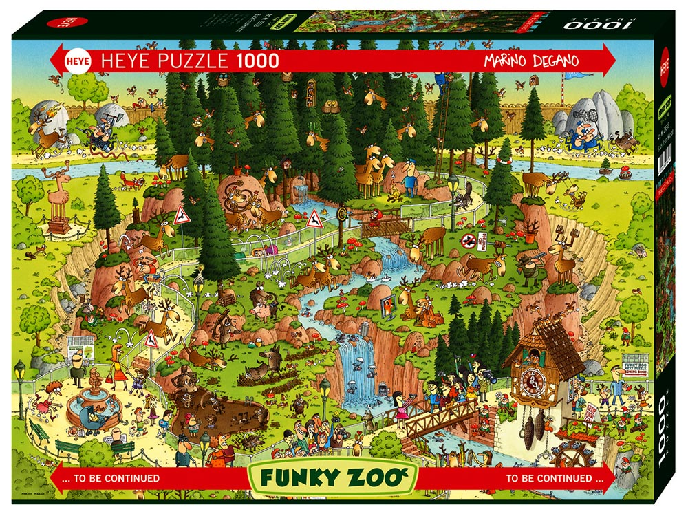 FUNKY ZOO, BLACK FOREST 1000pc