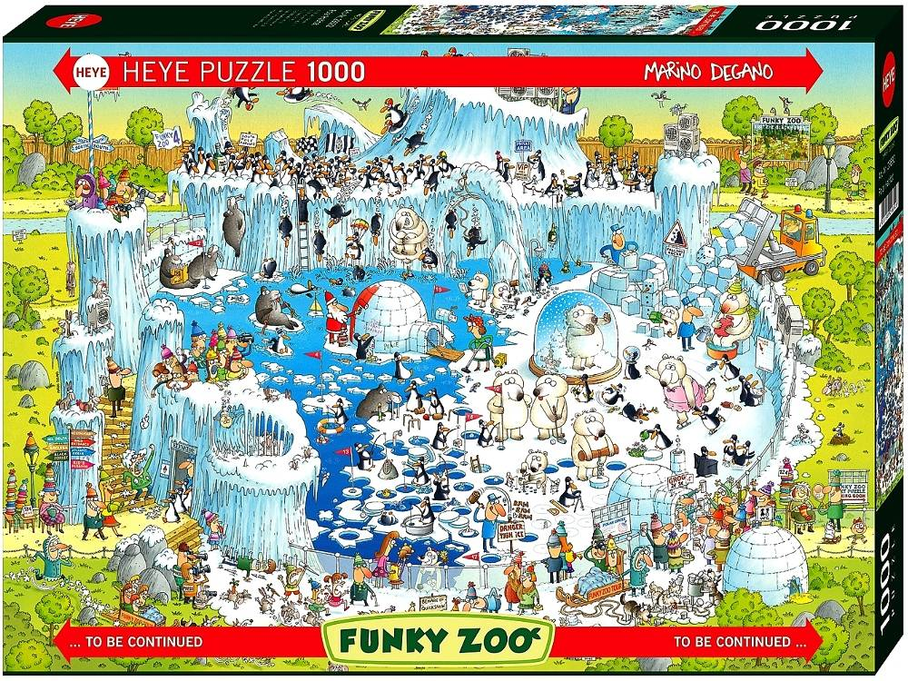 FUNKY ZOO,POLAR HABITAT 1000pc