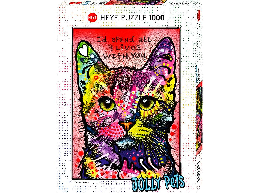 JOLLY PETS, 9 LIVES 1000pc