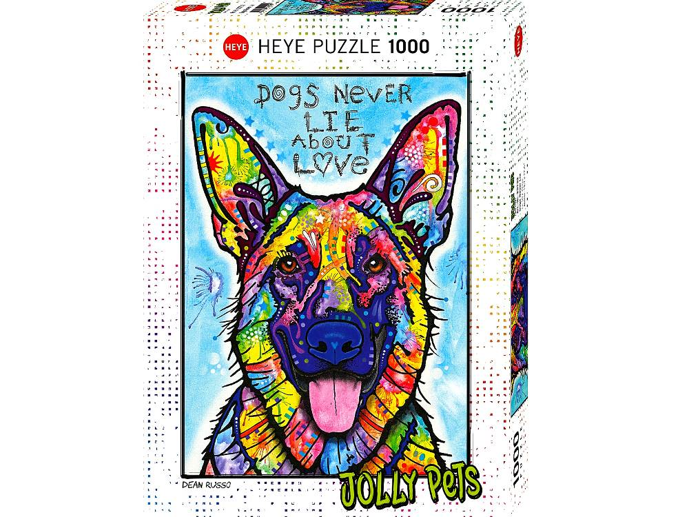 JOLLY PETS, DOGS NEVER 1000 pc