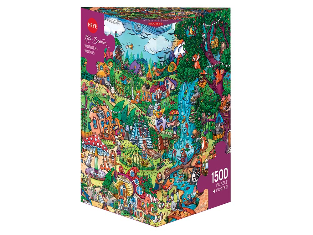 BERMAN, WONDERWOODS 1500pc