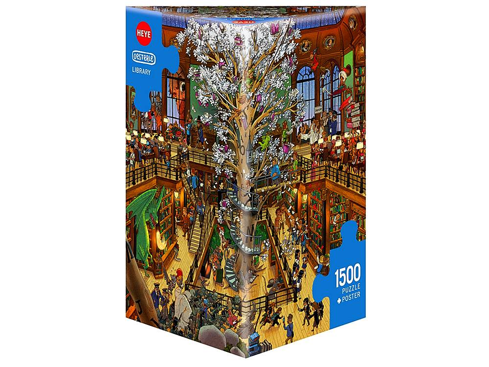 OESTERLE, LIBRARY 1500pc