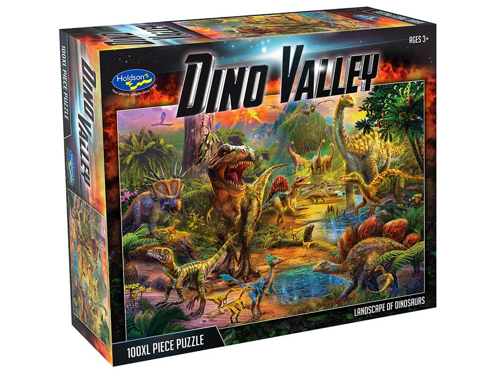 DINO VALLEY LANDSCAPE 100XL