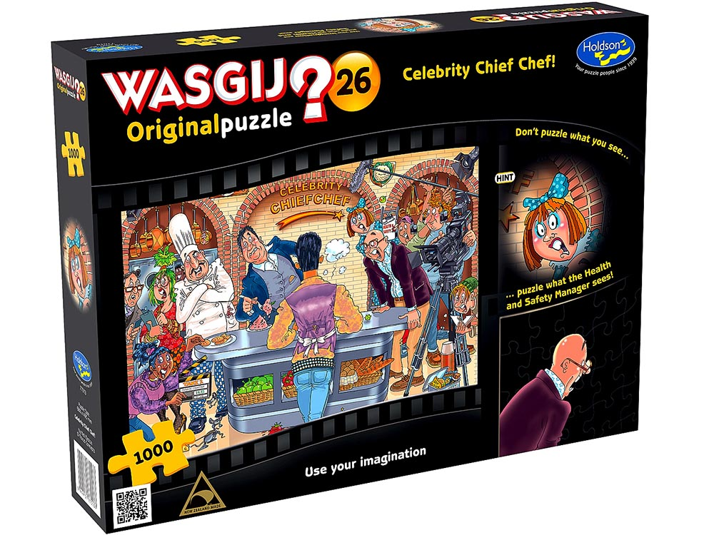 WASGIJ? ORIGINAL 26 CELEB.CHEF