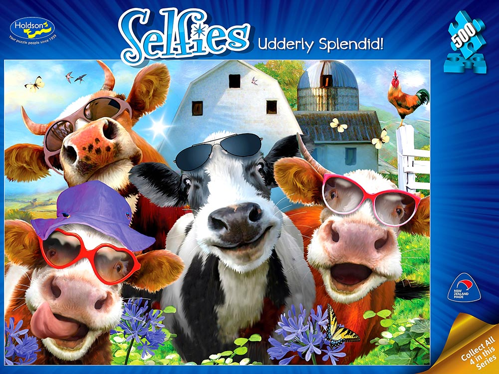 SELFIES 2 UDDERLY SPLENDID 500