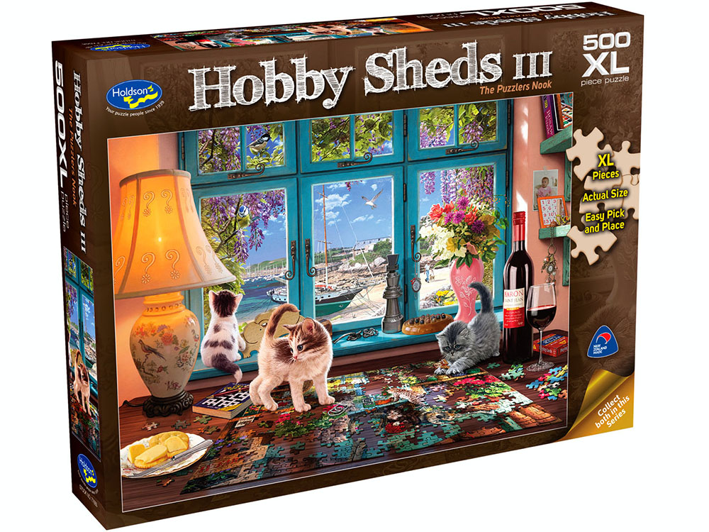 HOBBY SHEDS 3 500XL PUZZLERS