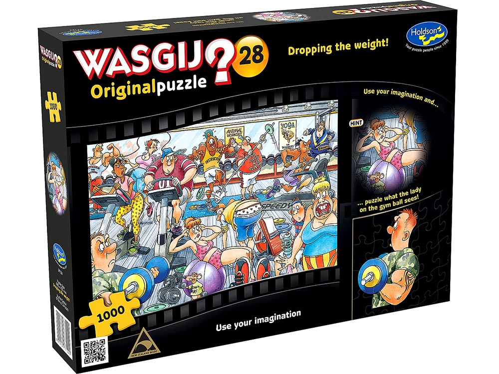 WASGIJ? ORIGINAL 28 DROPPING W