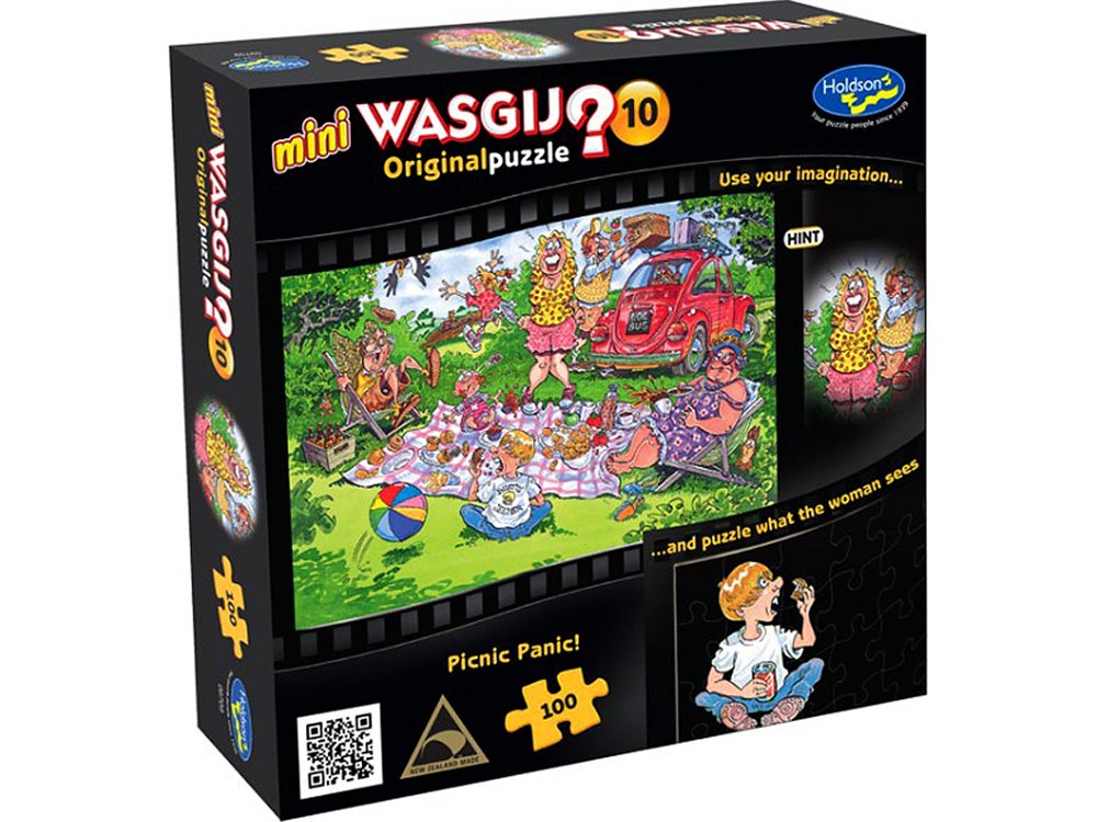 WASGIJ? MINI #10 100pc PICNIC