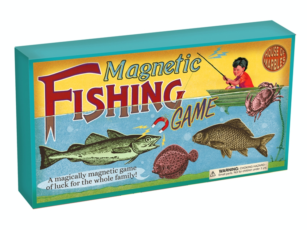 MAGNETIC FISHING GAME RETRO