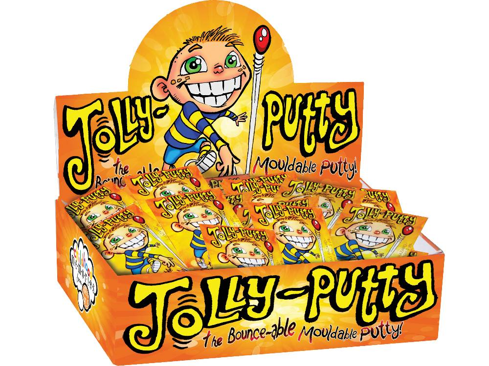 JOLLY PUTTY, Display of 144