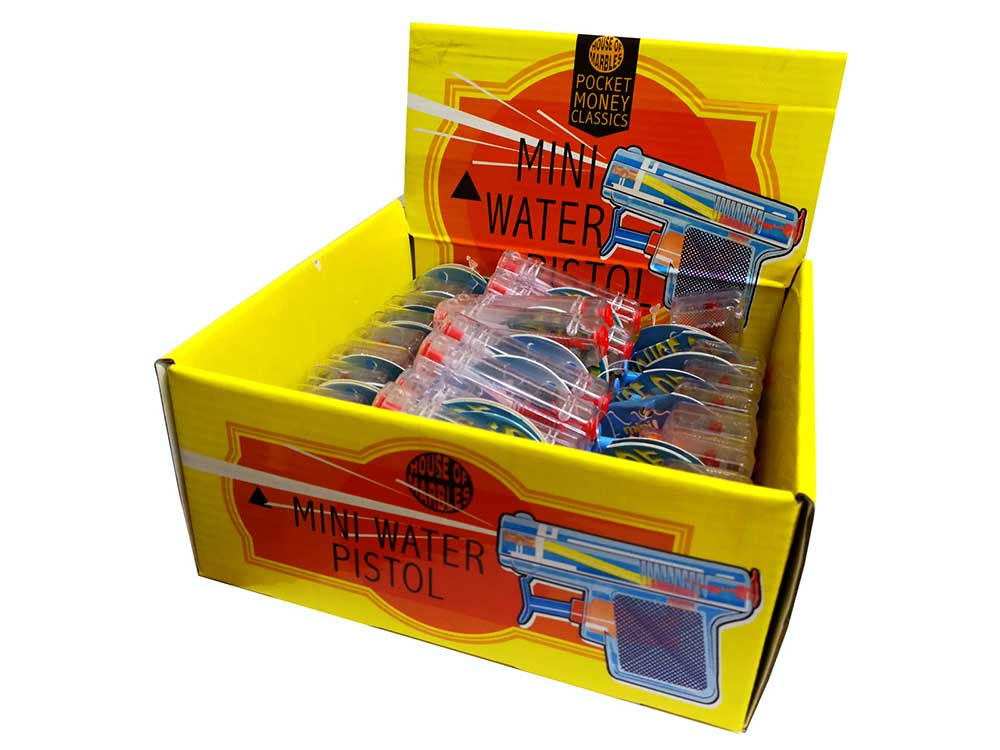 MINI WATER PISTOLS Disp.of 28