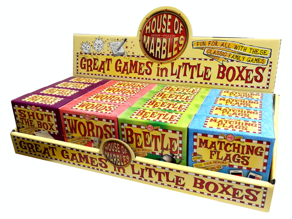 GREAT GAMES LITTLE BOXES x 16
