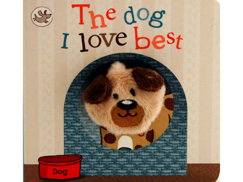 THE DOG I LOVE PUPPET BOOK