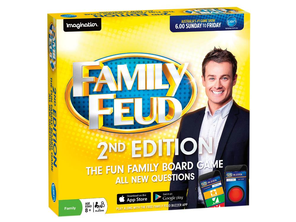 FAMILY FEUD 2 Board Game