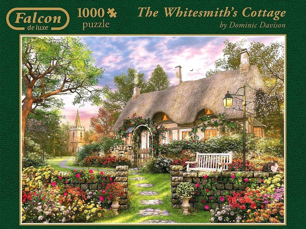 WHITESMITH'S COTTAGE 1000pc