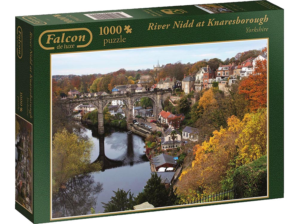 RIVER NIDD KNARLESBOROUGH 1000