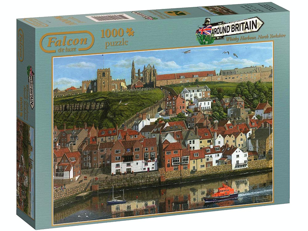 WHITBY HARBOUR 1000pc