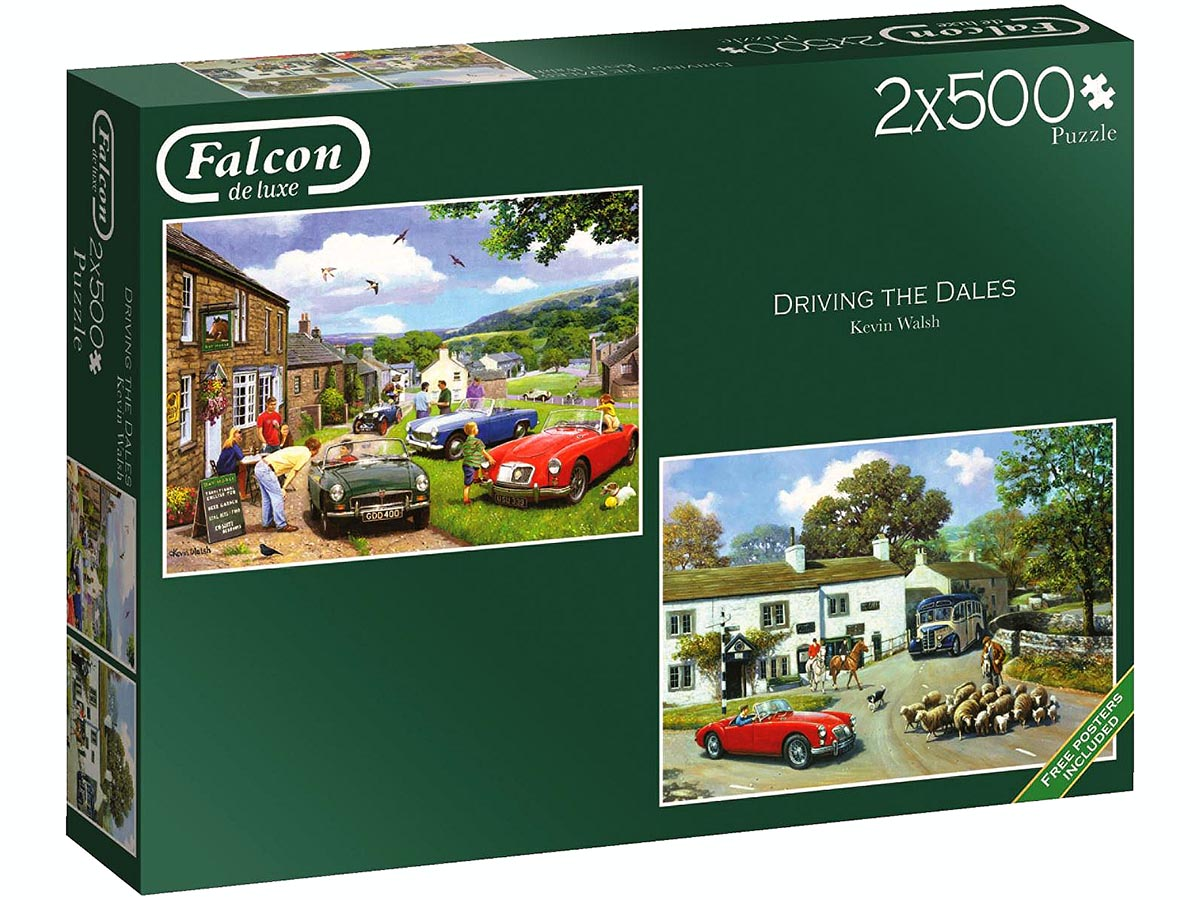 DRIVING IN THE DALES 2 X 500pc