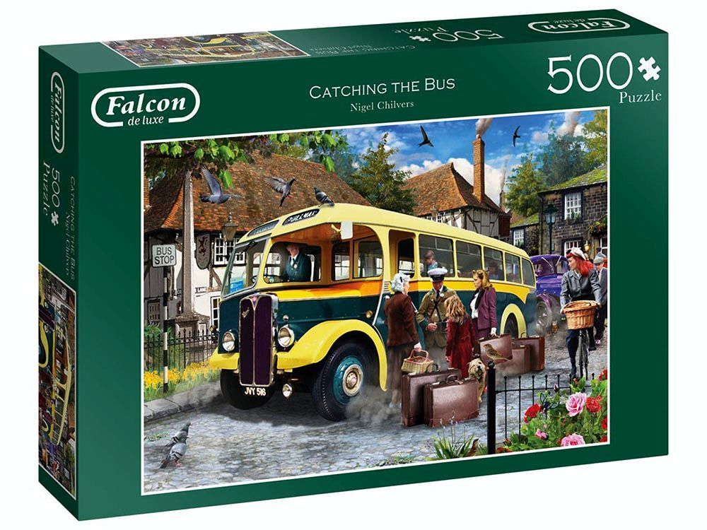 CATCHING THE BUS 500pc
