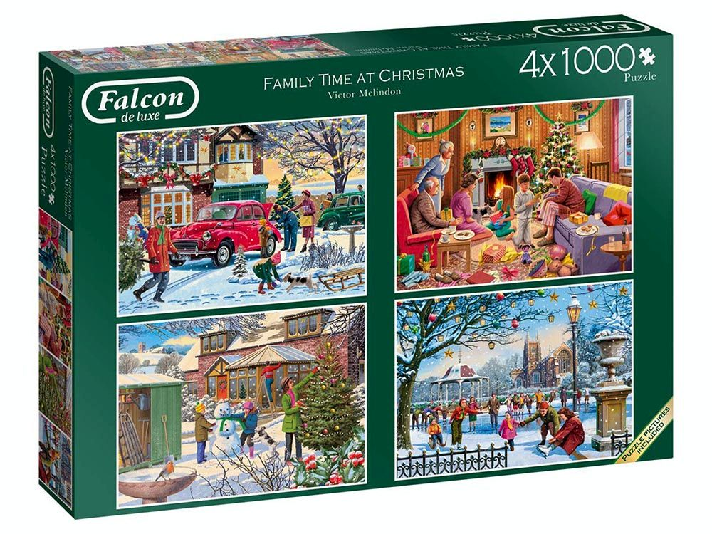 FAMILY TIME CHRISTMAS 4x1000pc