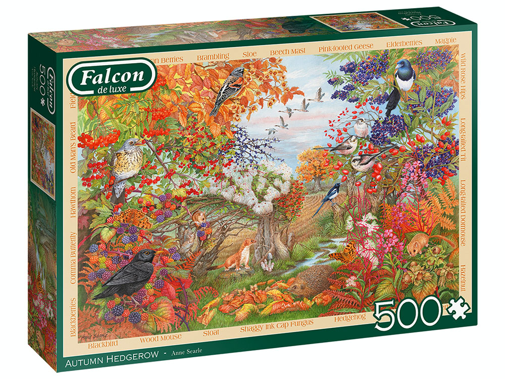 AUTUMN HEDGEROW 500pc