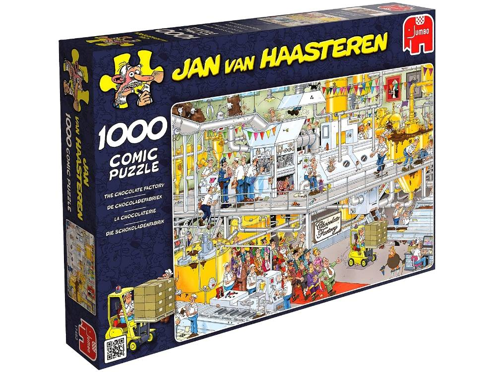 JVH CHOCOLATE FACTORY 1000pc