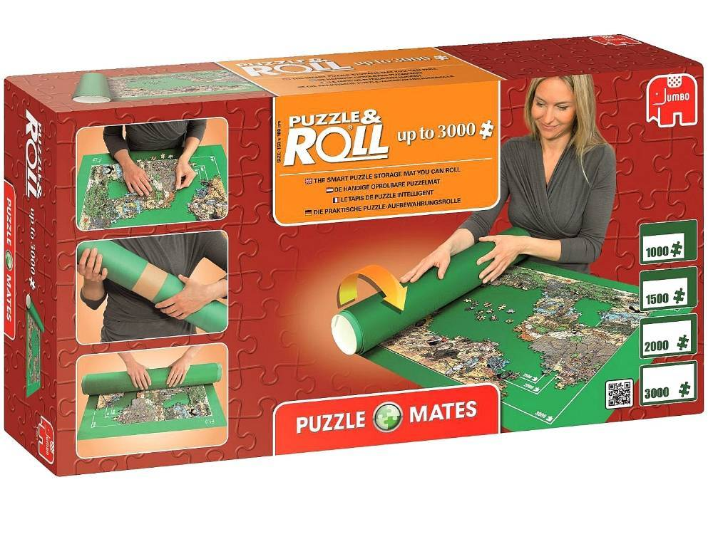Puzzle Mates Roll Up To 3000pc Jum17691 Jedko Games