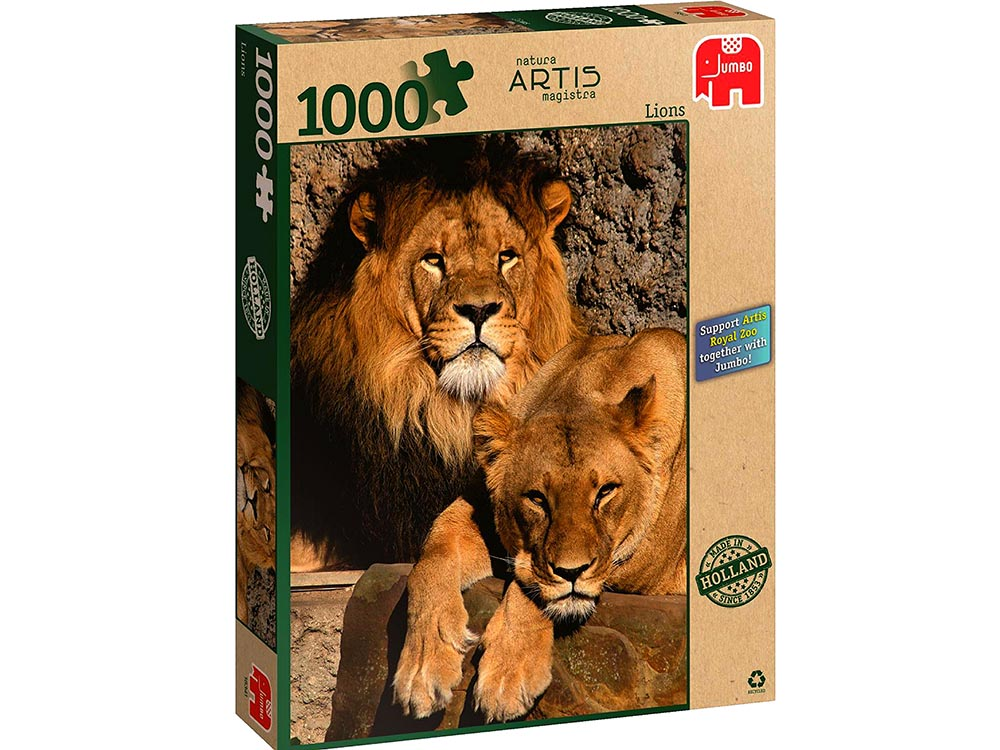 LIONS, ARTIS ZOO 1000pc