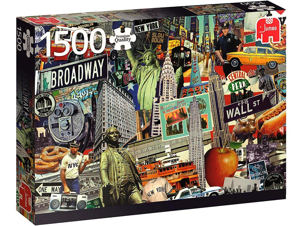 BEST OF NEW YORK 1500pc