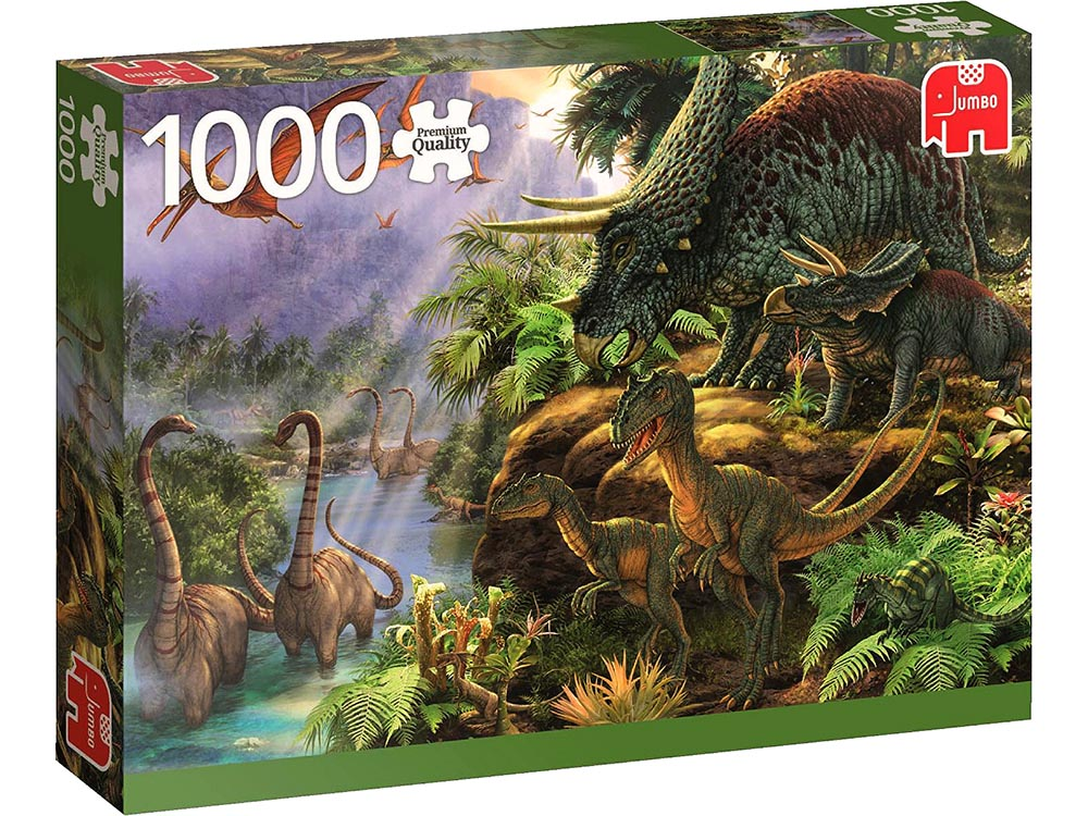 DINOSAUR VALLEY 1000pc