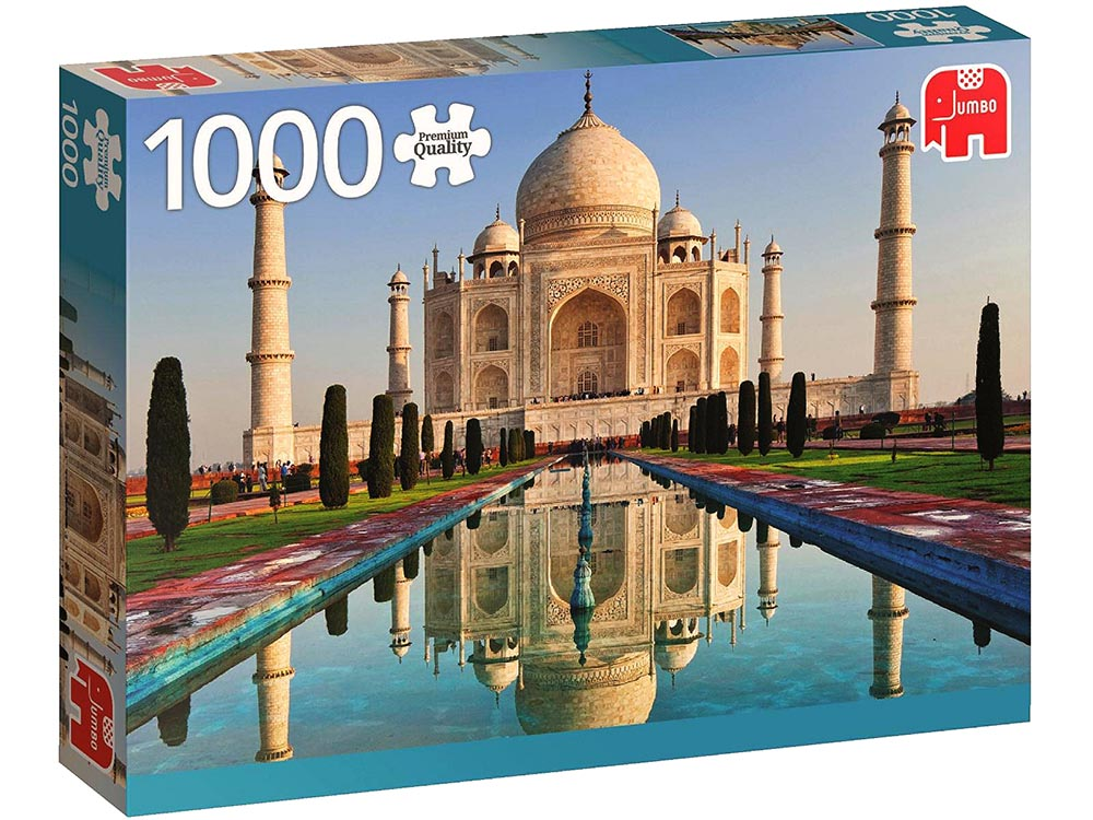 TAJ MAHAL, INDIA 1000pc