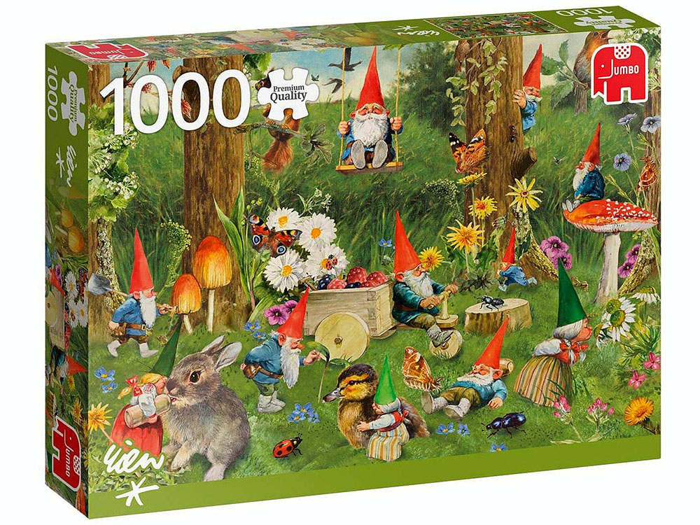 GNOMES AT THE FOREST EDGE 1000