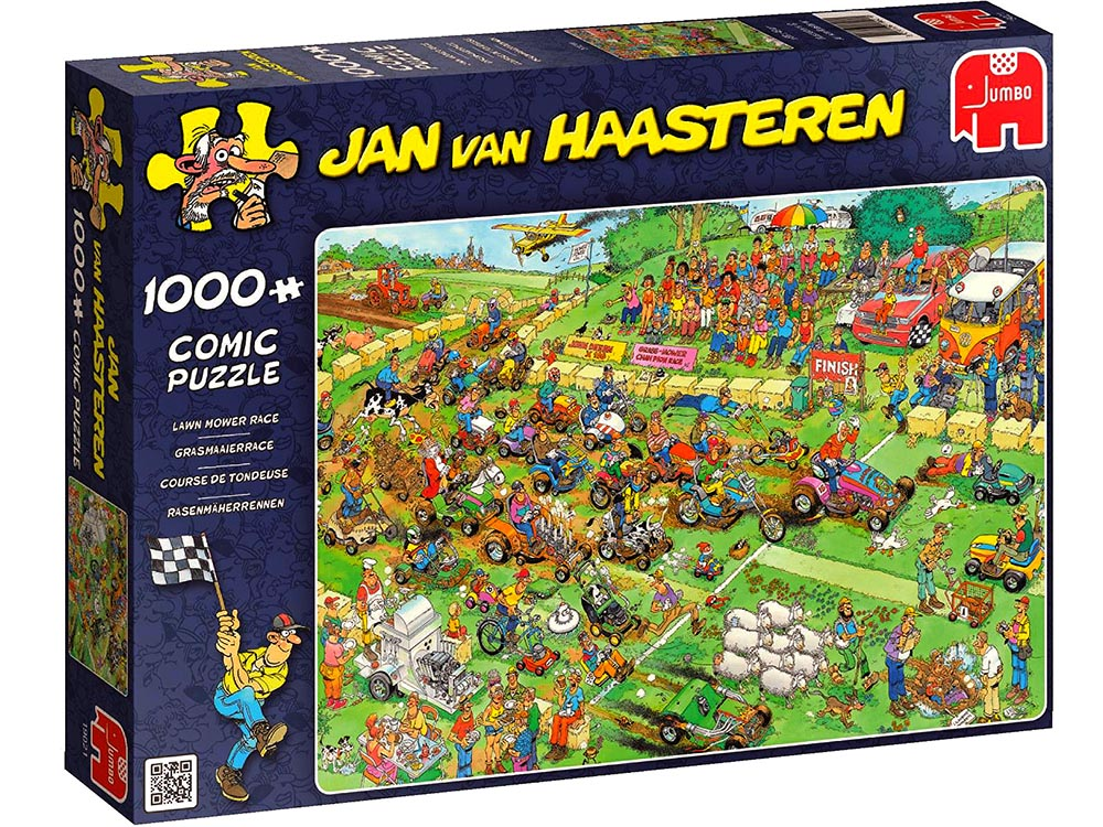 JVH LAWNMOWER RACE 1000pc