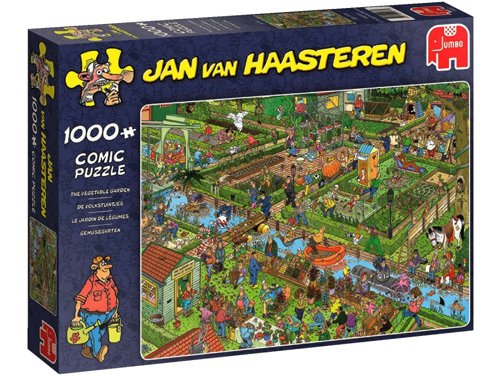 JVH VEGETABLE GARDEN 1000pc