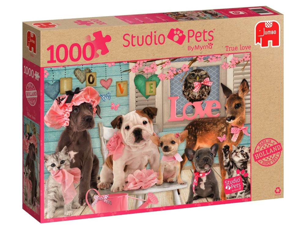 STUDIO PETS TRUE LOVE 1000pc
