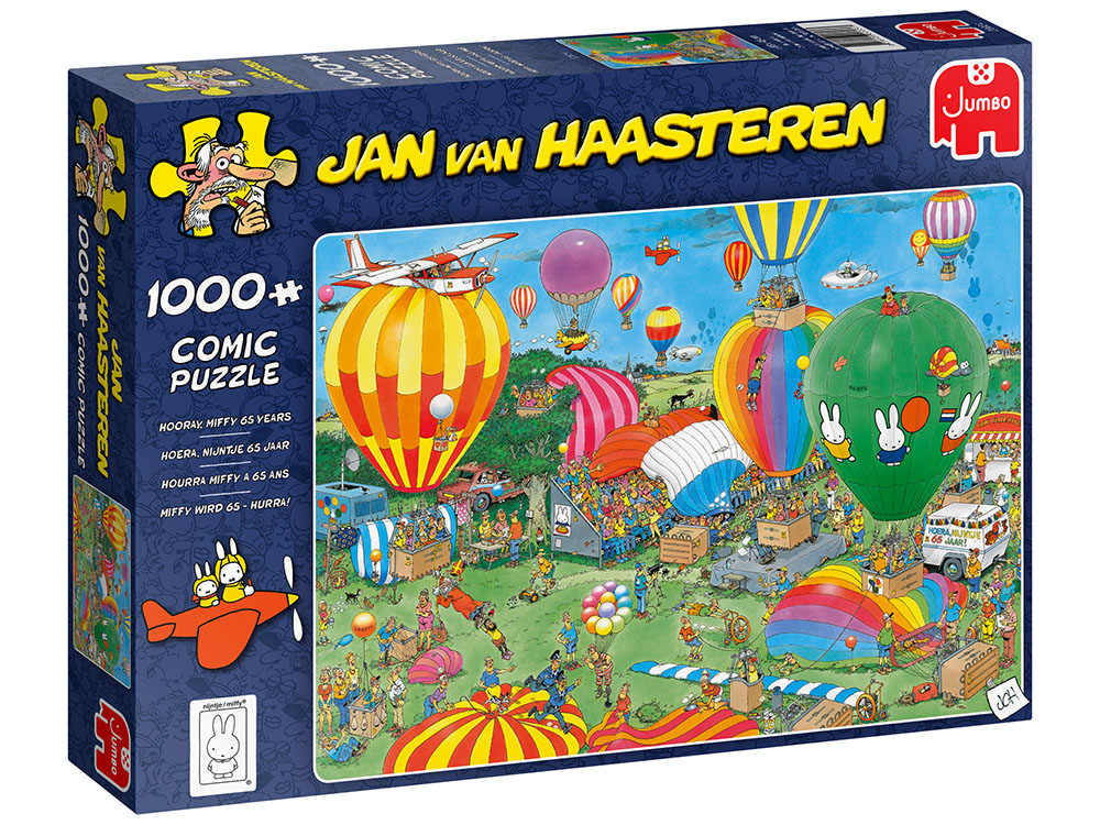 JVH HOORAY FOR MIFFY 1000pc