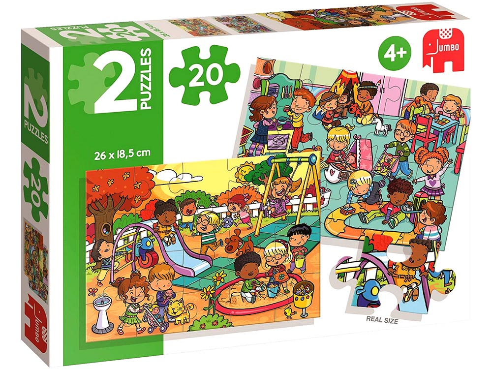 PARK & PLAYGROUND 2 x 20pc SET