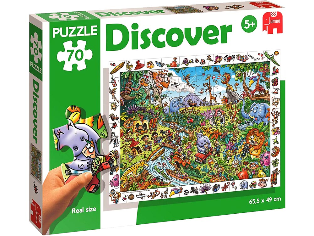 DISCOVER SAFARI 70pc FLOOR PUZ