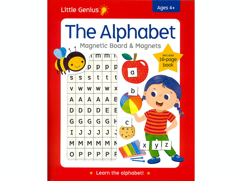 THE ALPHABET MAGNETIC BOARD