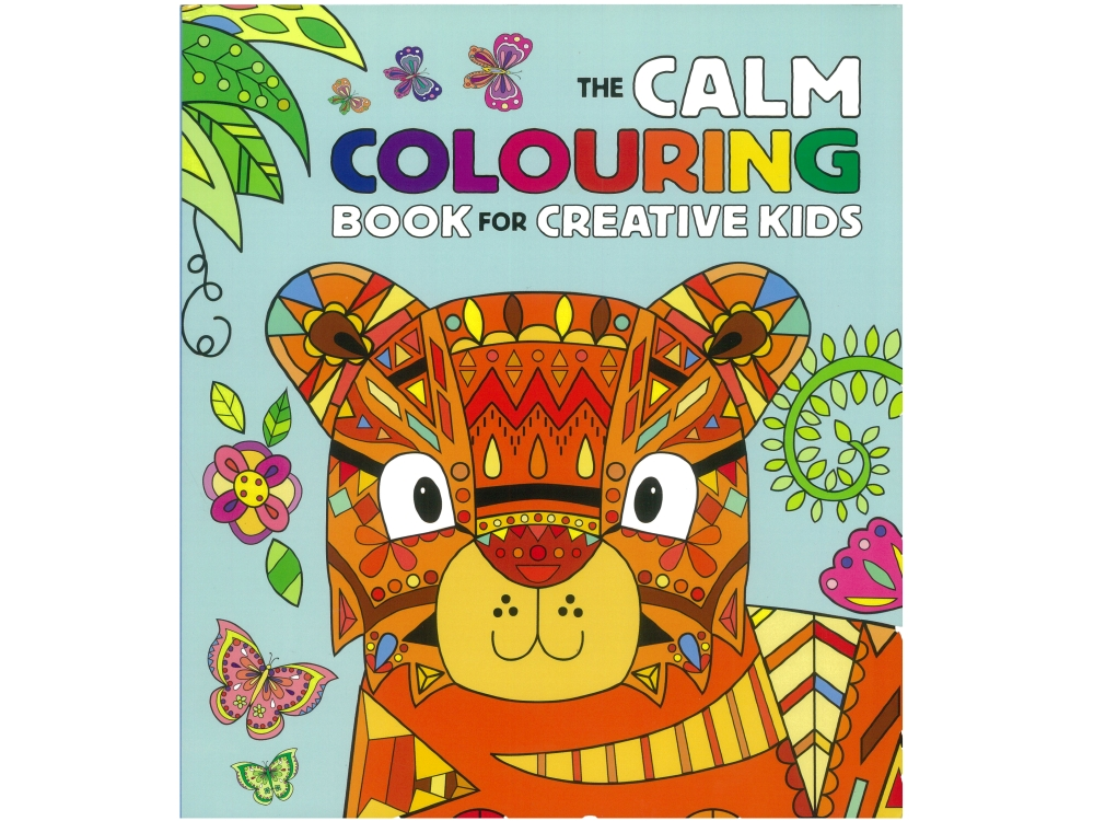 CALM COLOURING BOOK FOR KIDS